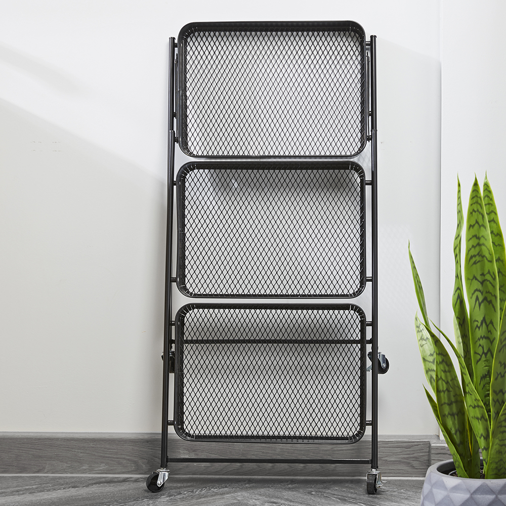 Picture of Home Collections: 3 Tier Metal Foldaway Trolley