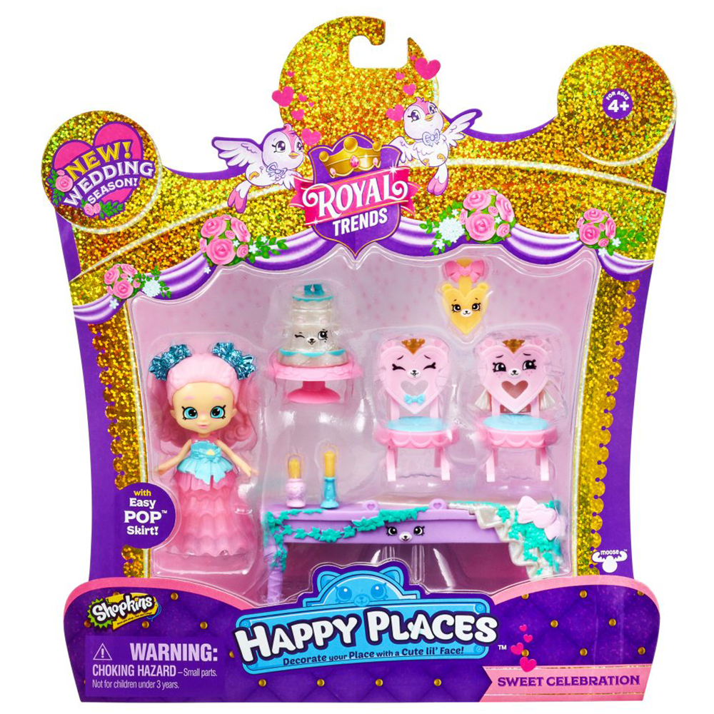 Picture of Shopkins: Happy Places Royal Trends Wedding Season Pack Assortment
