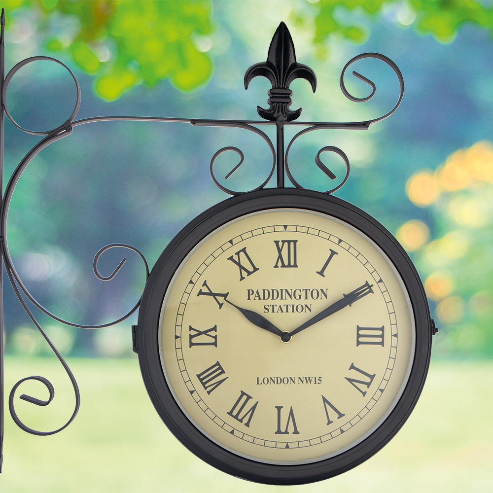 Picture of Jardin: Paddington Station Double Sided Wall Clock