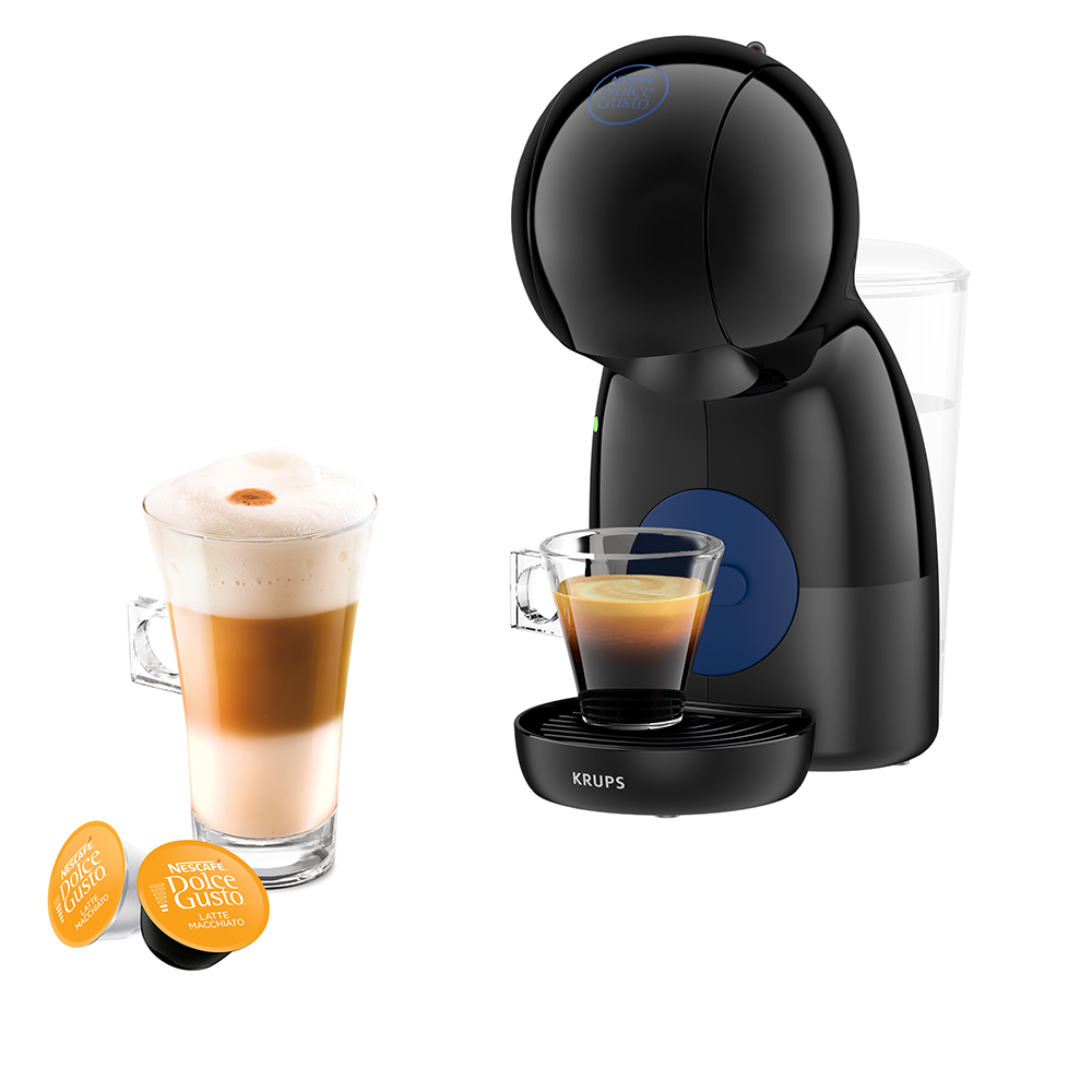 Picture of Nescafe: Dolce Gusto Piccolo XS Manual Coffee Machine - Black by Krups