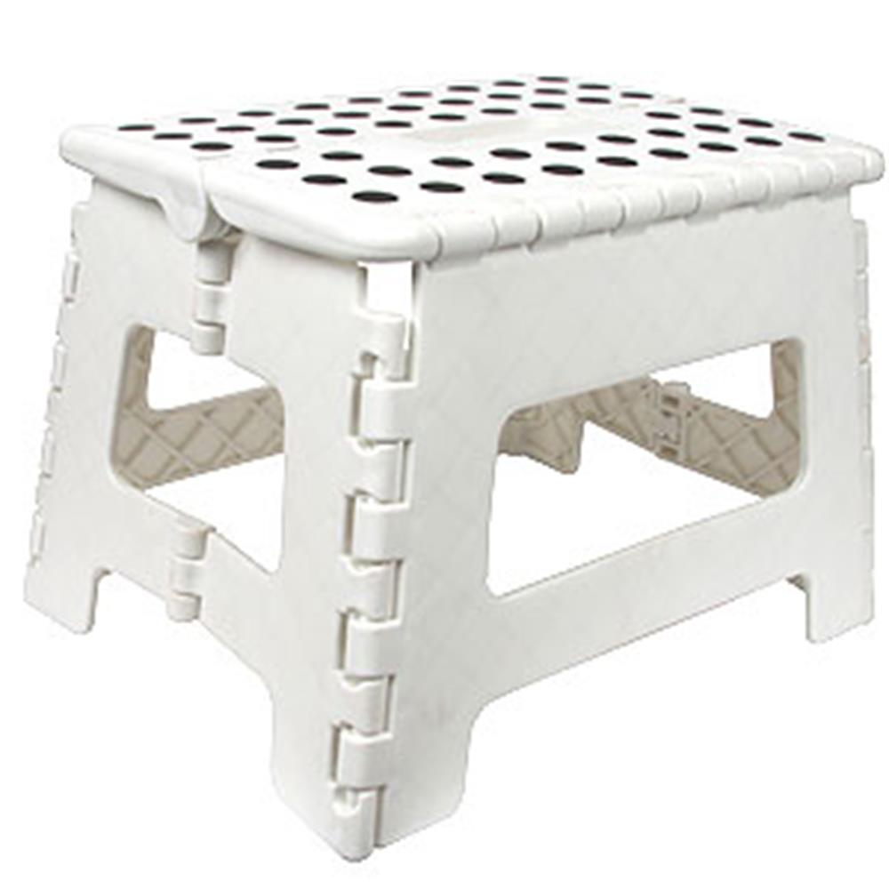 Picture of DIY Folding Stool: White