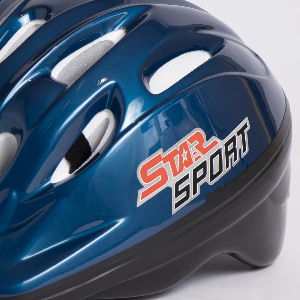 Picture of Francis Stuart Cycles: Child Bicycle Helmet (Blue)