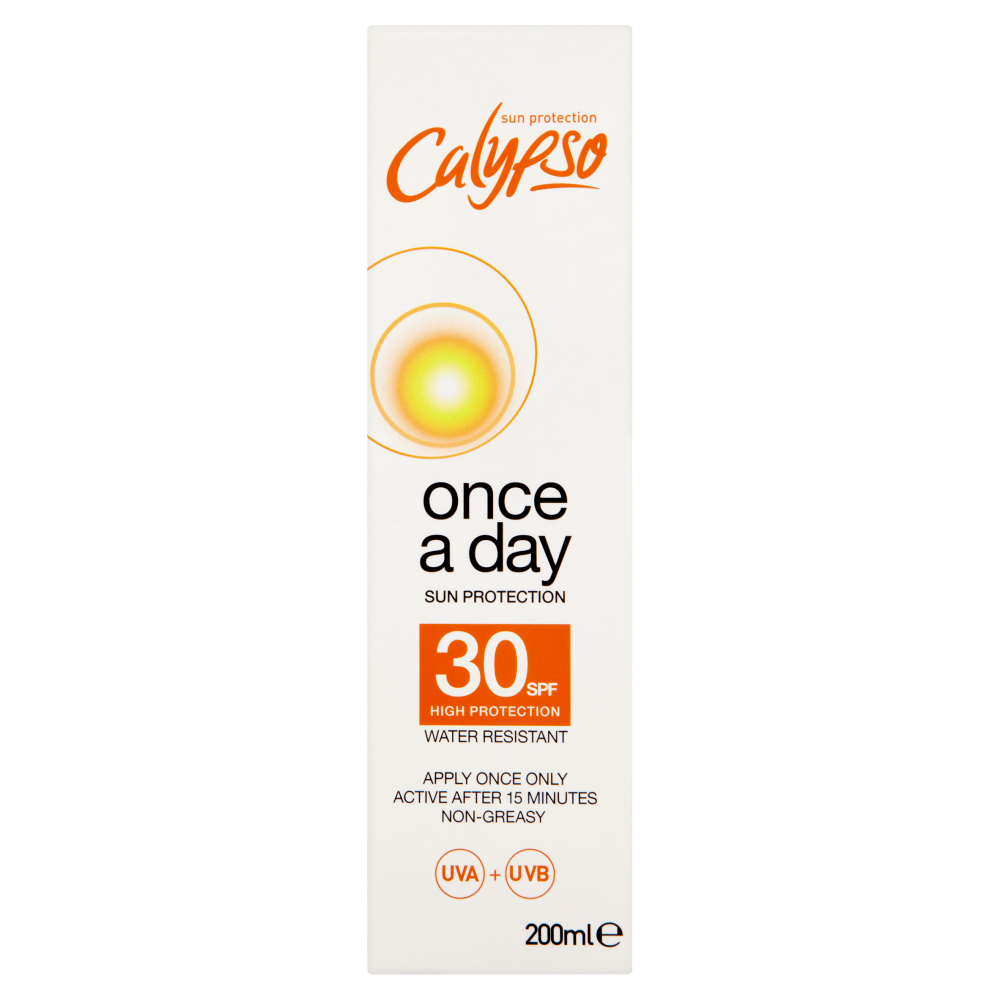 Picture of Calypso: Once A Day Sun Protection Lotion 200ml - SPF 30