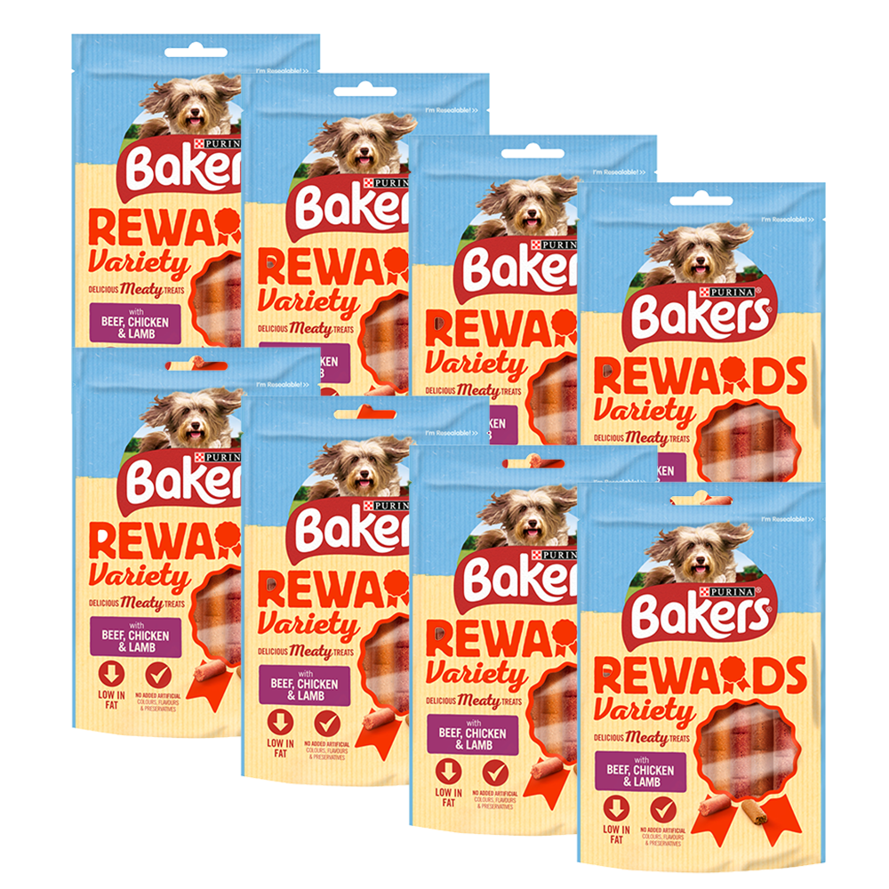 Picture of Bakers: Mixed Variety Rewards Dog Treats 100g (Case of 8)