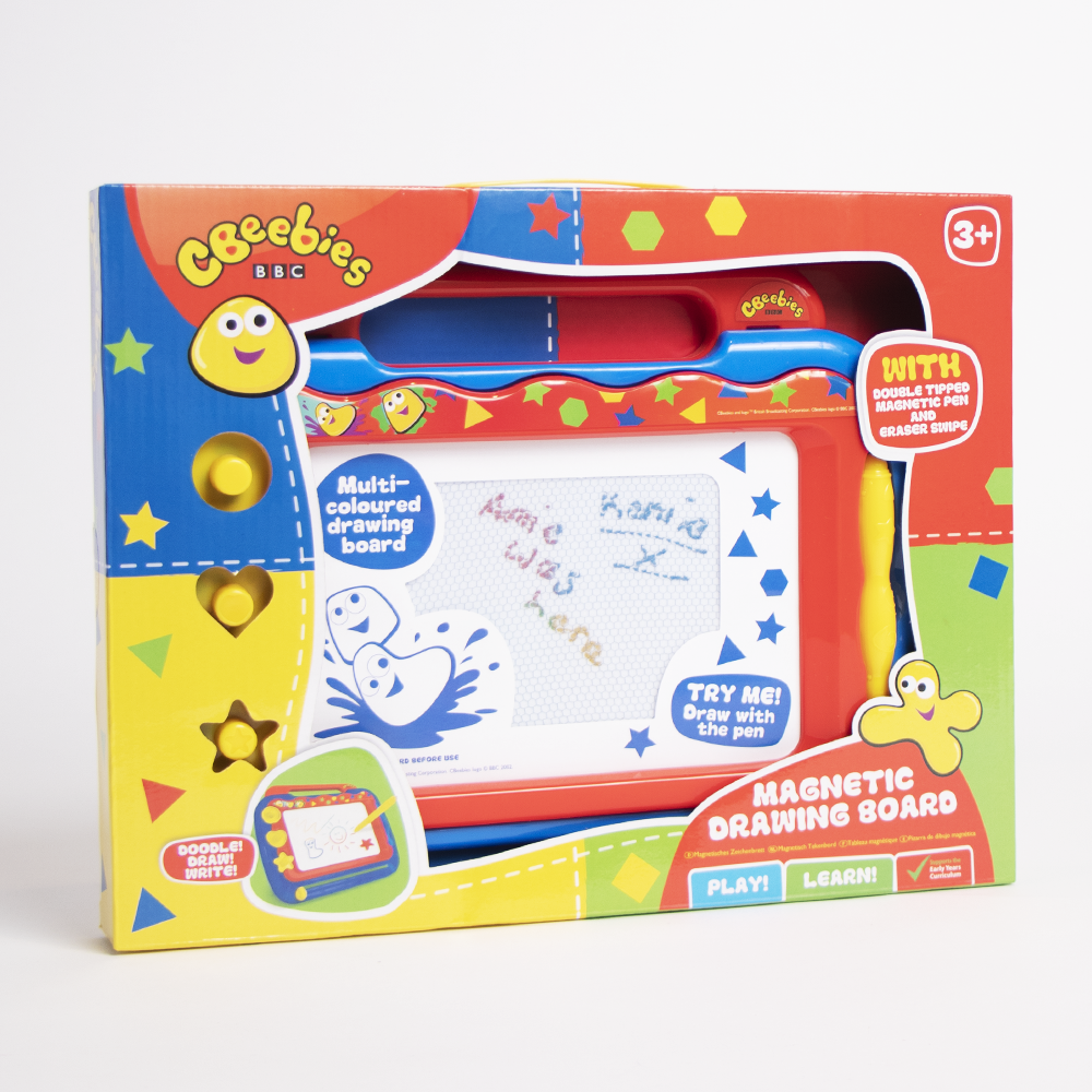 Picture of CBeebies: Magnetic Drawing Board