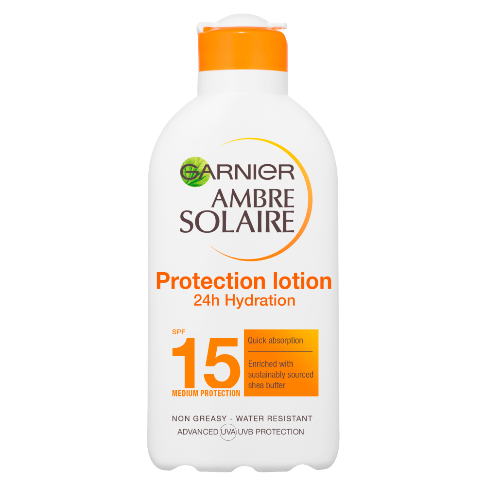 Picture of Ambre Solaire: 24hr Hydration Protection Lotion 200ml - SPF 15