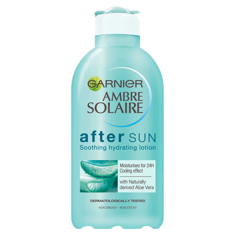 Picture of Ambre Solaire: Soothing Hydrating After Sun Lotion 200ml with Aloe Vera