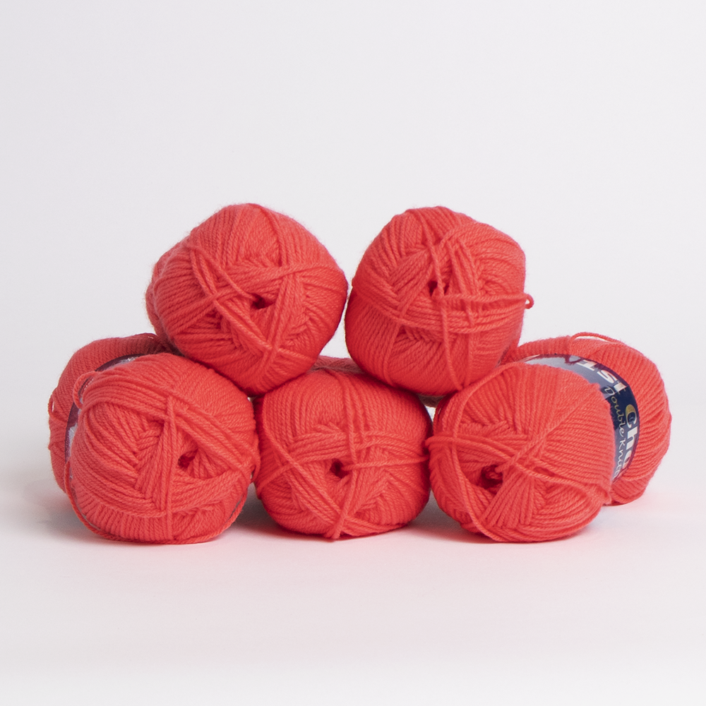 Picture of 1st Choice: Double Knitting Yarn 100g - Coral (Case of 5)