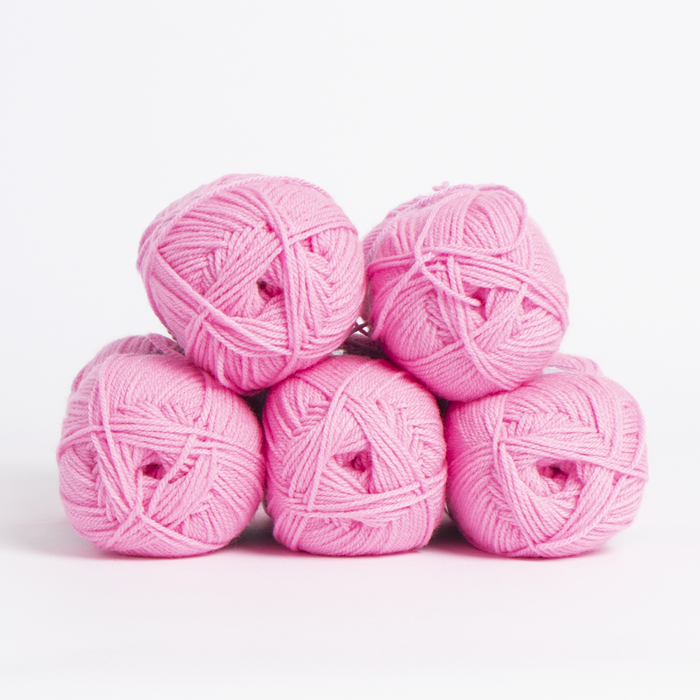 Picture of 1st Choice: Double Knitting Yarn 100g - Summer Pink (Case of 5)