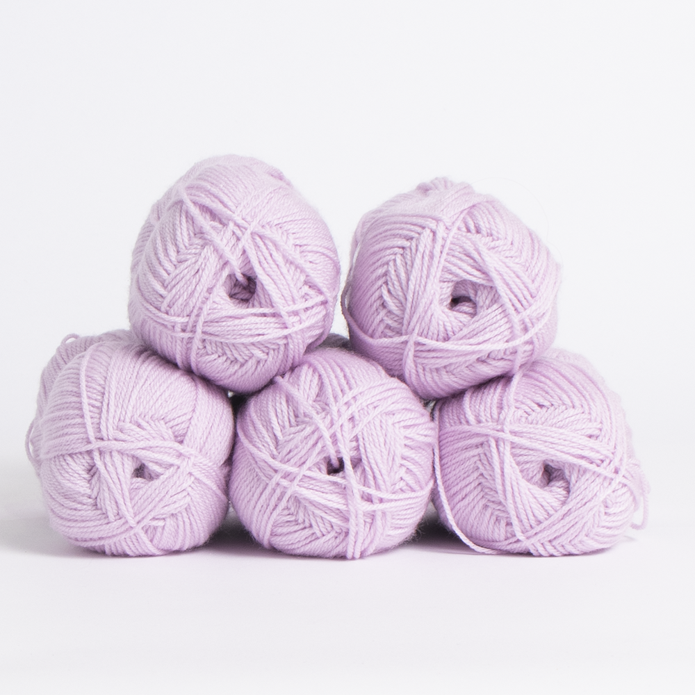 Picture of 1st Choice: Double Knitting Yarn 100g - Lilac (Case of 5)