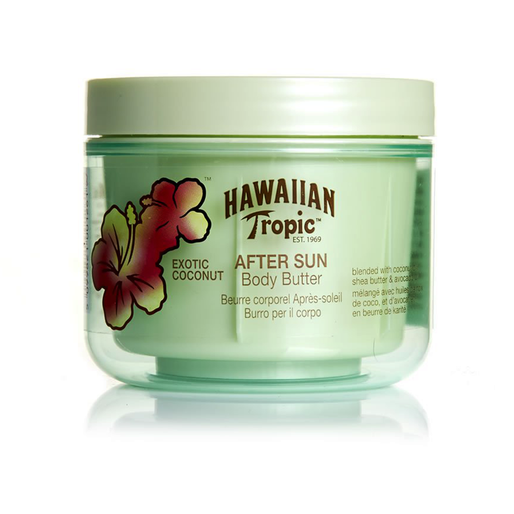 Picture of Hawaiian Tropic: Body Butter After Sun 200ml - Exotic Coconut