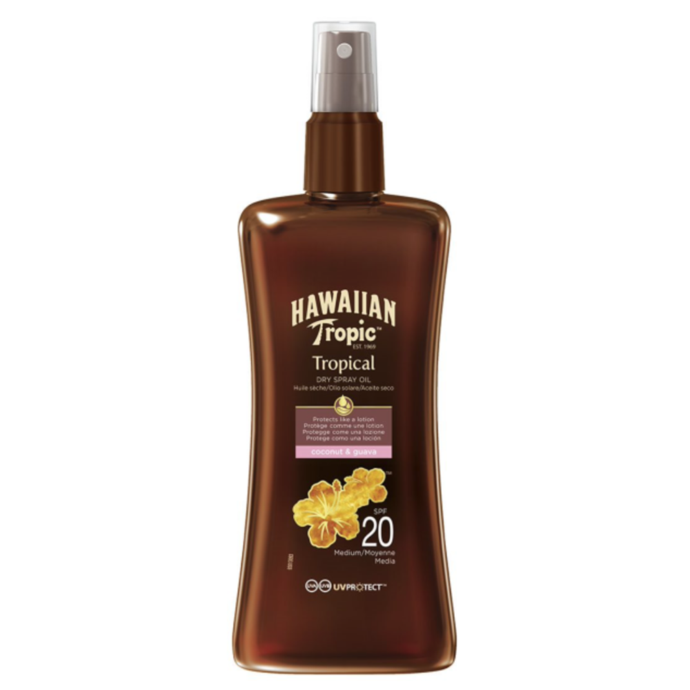 Picture of Hawaiian Tropic: Tropical Dry Spray Oil 200ml - SPF 20