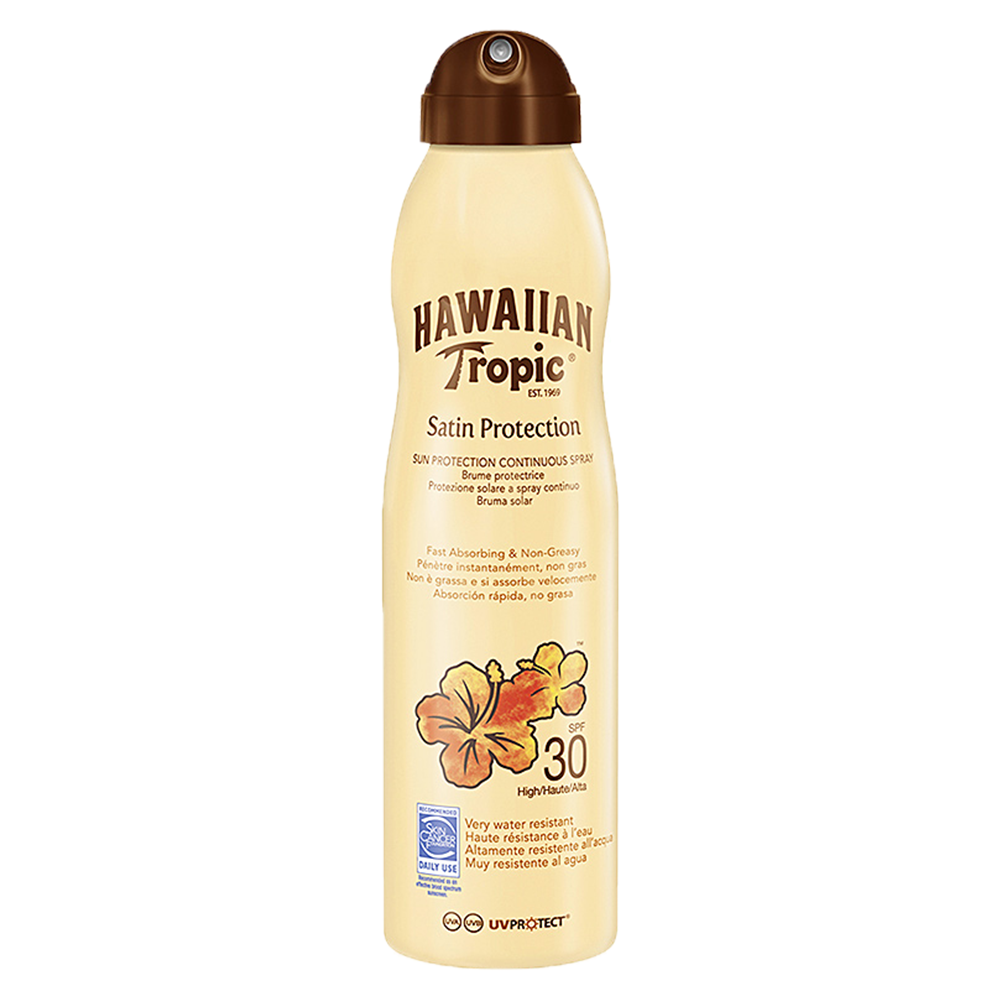 Picture of Hawaiian Tropic: Satin Protection Continuous Spray 220ml - SPF 30