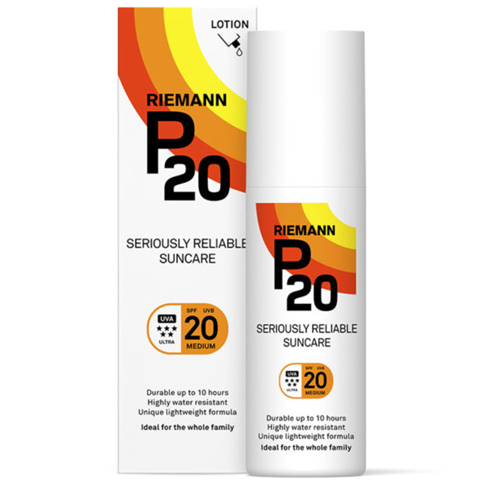 Picture of Riemann P20: Seriously Reliable Suncare Lotion 200ml - SPF 20