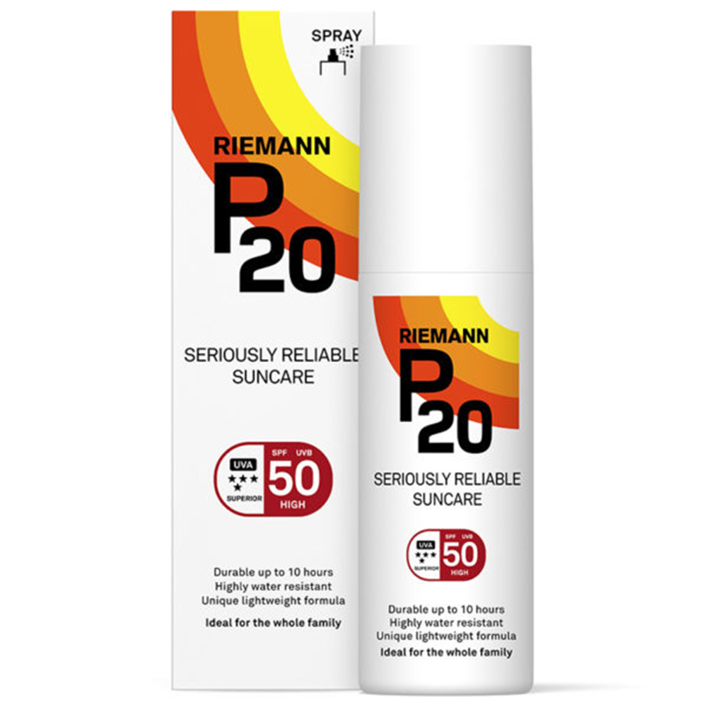 Picture of Riemann P20: Seriously Reliable Suncare Spray 200ml - SPF 50