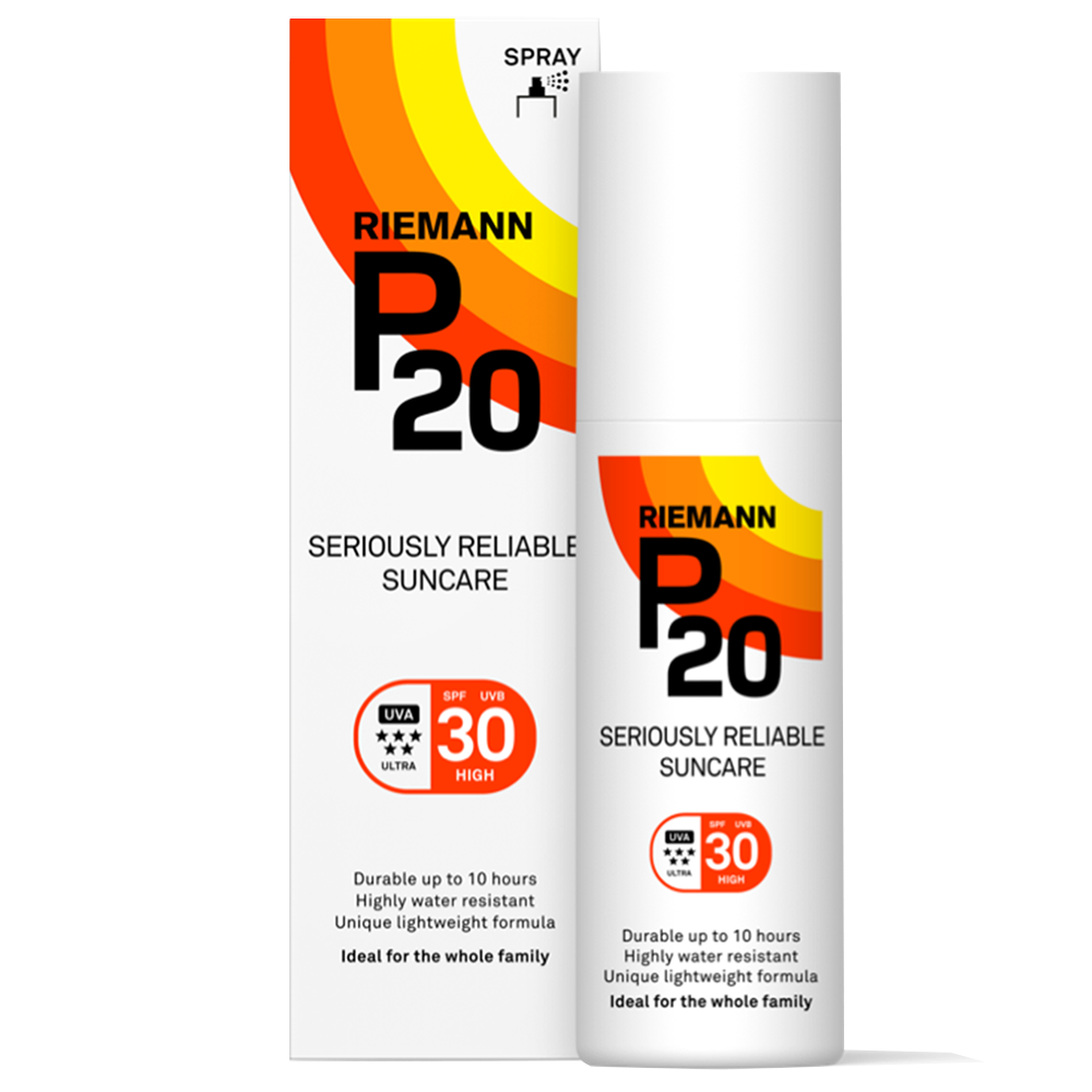 Picture of Riemann P20: Seriously Reliable Suncare Spray 200ml - SPF 30