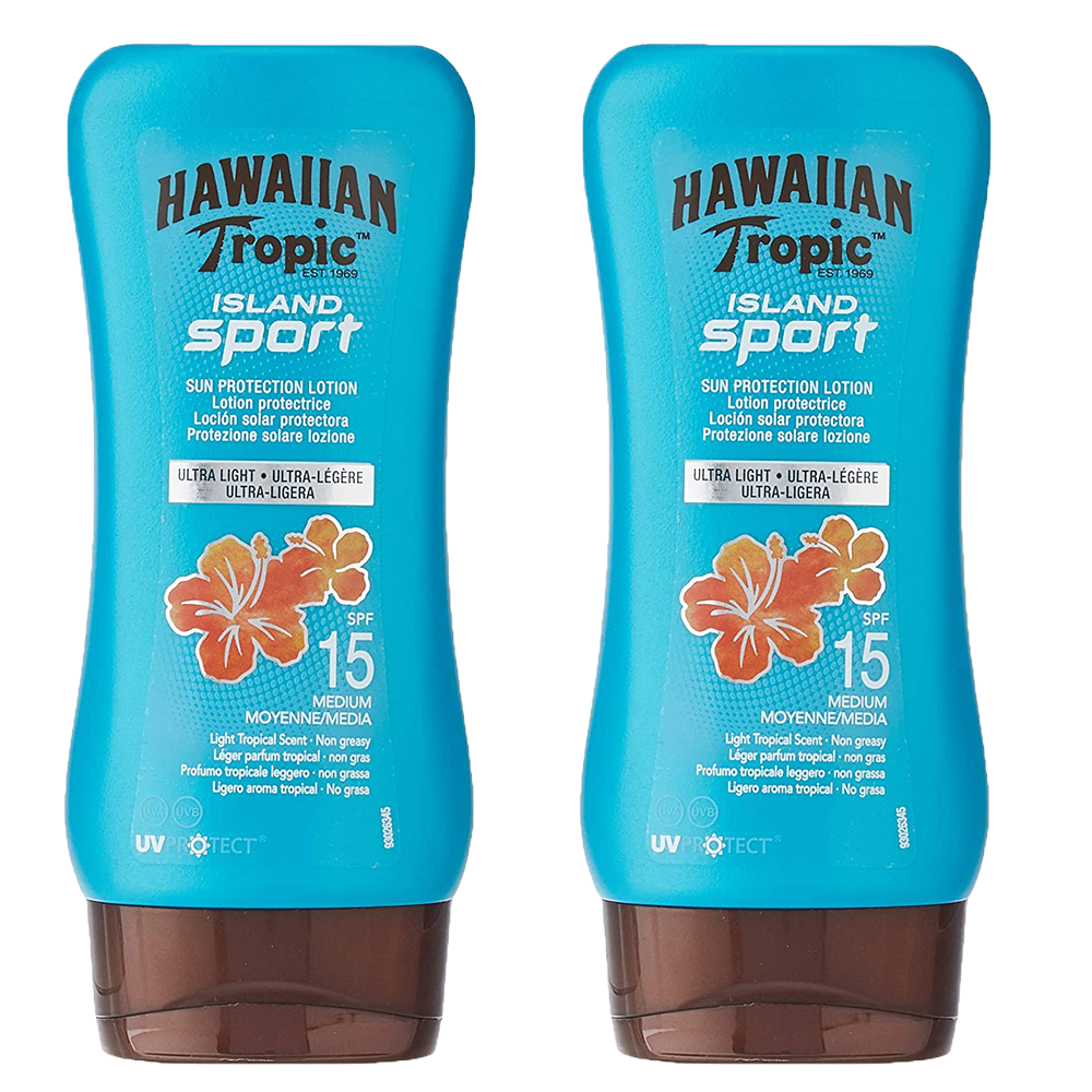 Picture of Hawaiian Tropic: Island Sport Protective Sun Lotion 180ml - SPF 15 (Case of 2)