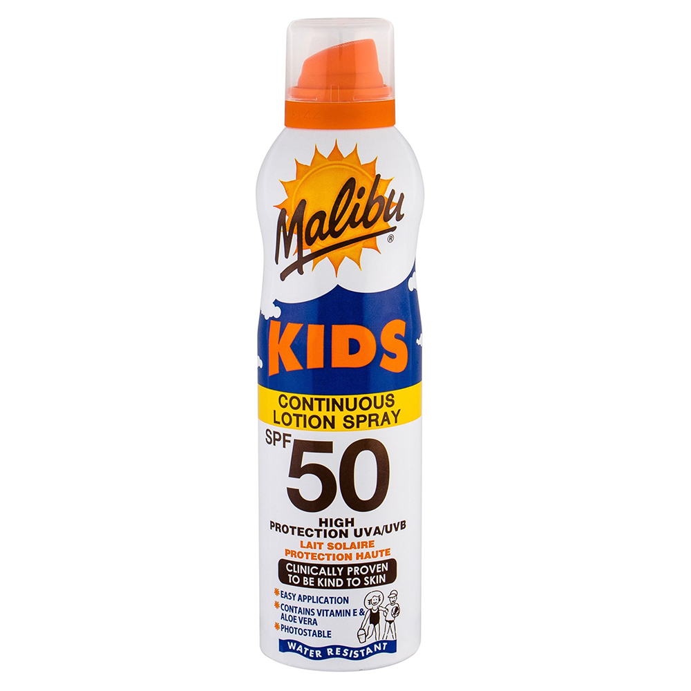 Picture of Malibu: Kids Continuous Lotion Spray 175ml - SPF 50