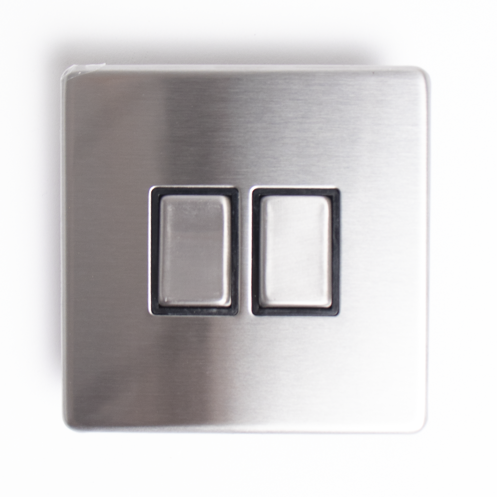 Picture of Status: Double Switch - Stainless Steel
