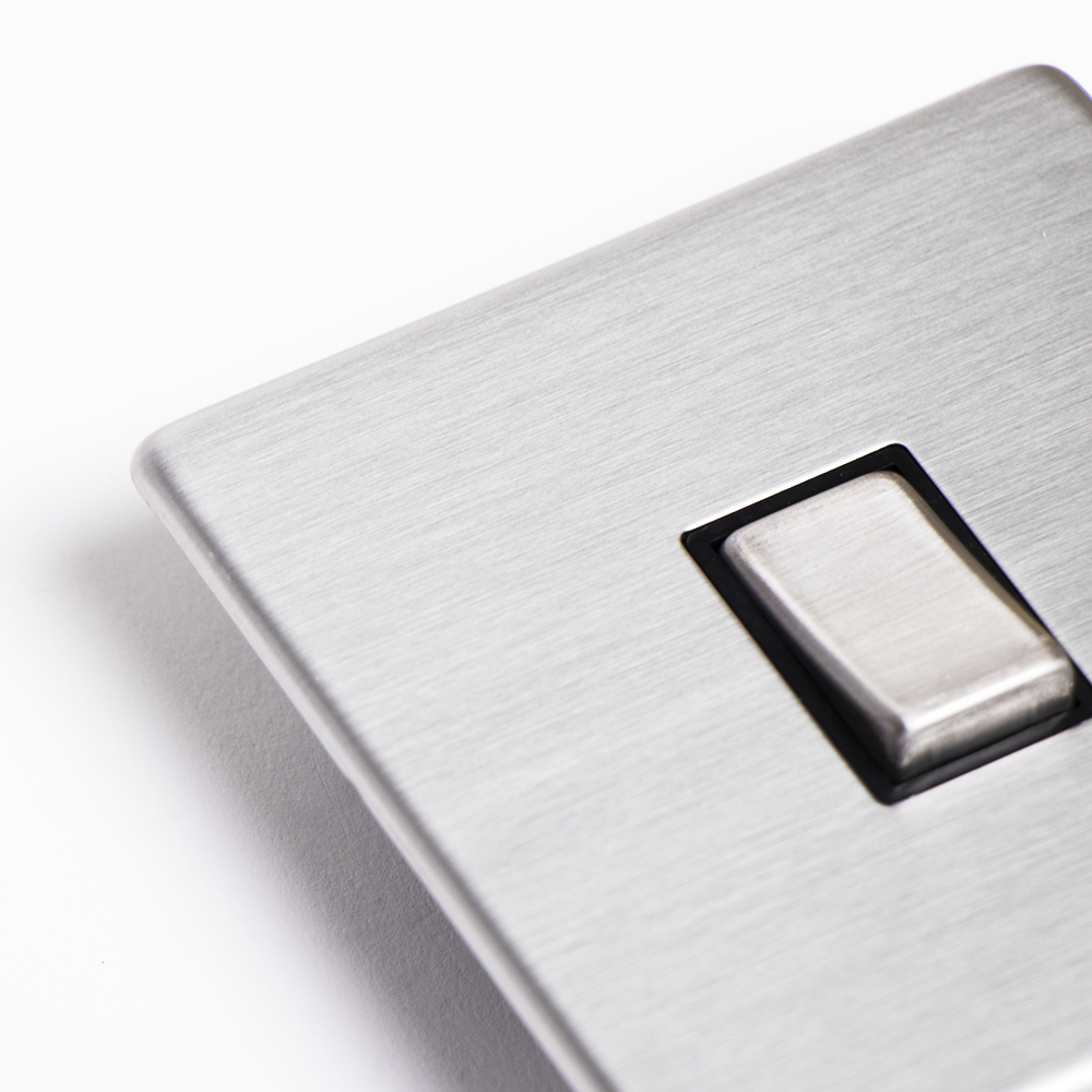Picture of Status: Single Switch - Stainless Steel