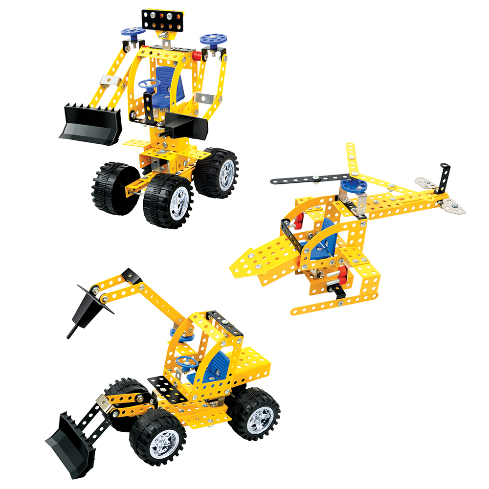Picture of HMT Heavy Mechanical Truck DIY Metal Construction Kit