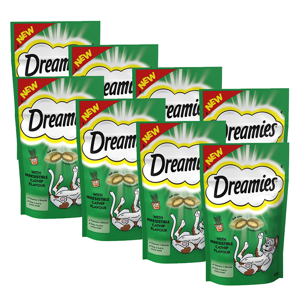 Picture of Dreamies: Cat Treat Biscuits with Catnip 60g (Case of 8)