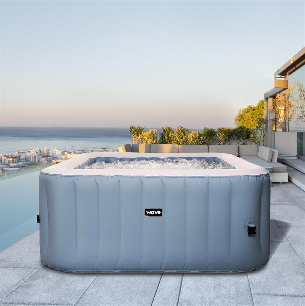 Picture of Wave Pacific Grey Inflatable Hot Tub (2-4 Person)