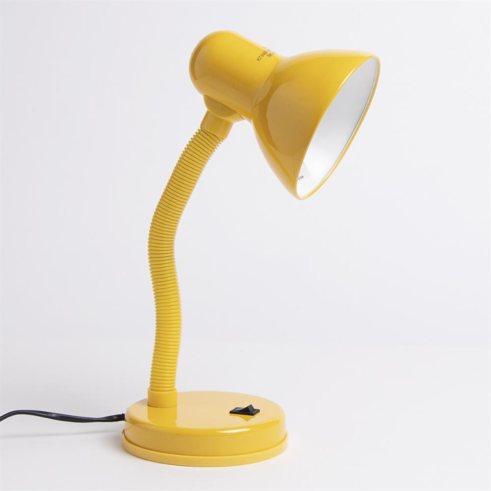 Picture of Home Collections: Metal Desk Lamp - Yellow