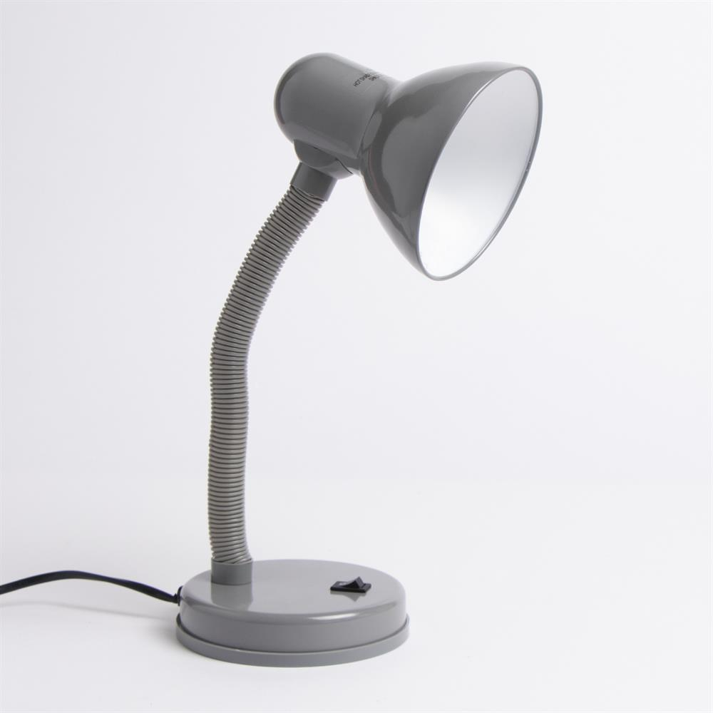 Picture of Home Collections: Metal Desk Lamp - Grey