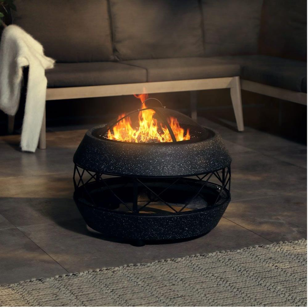 Picture of VonHaus Spinningfield MgO Concrete Effect Fire Pit