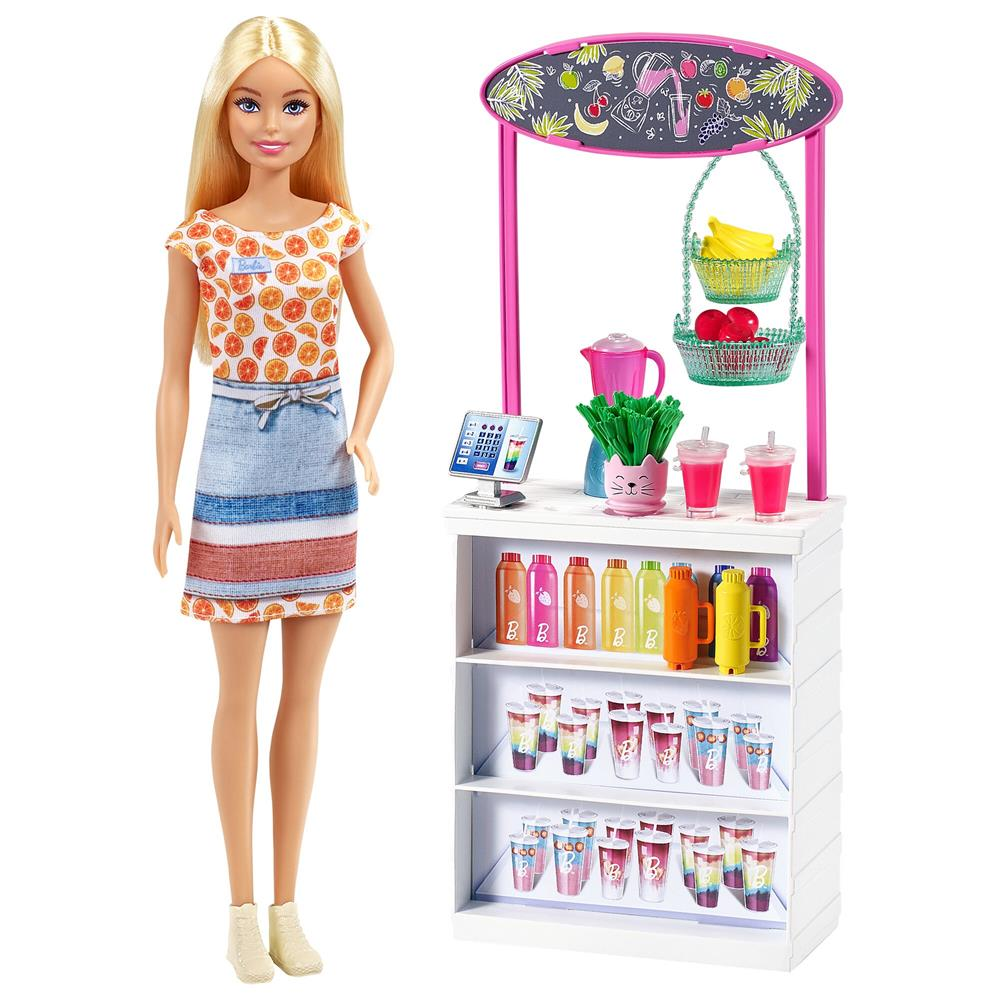 Picture of Barbie Smoothie Bar Playset