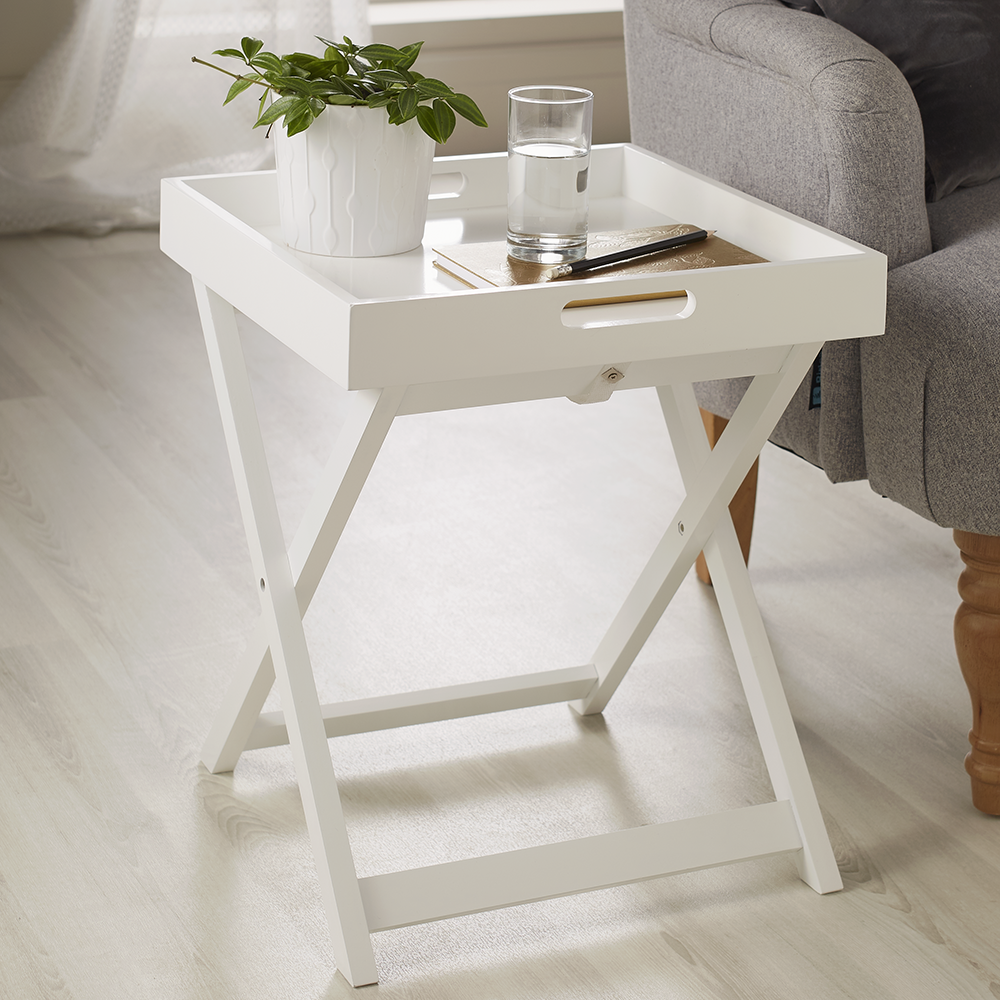 Picture of Loft Range: Tray Table - White