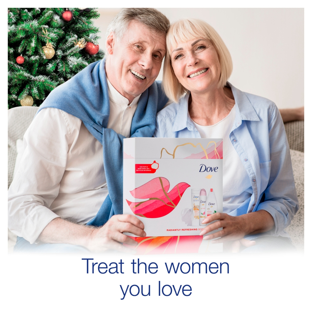 Picture of Dove: Radiantly Refreshing Body Selection Gift Set