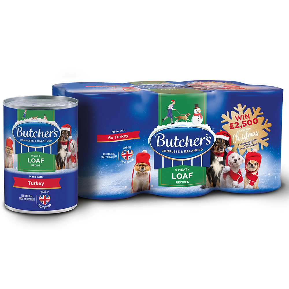 Picture of Butchers: Christmas Meat In Loaf With Turkey (Case of 24 x 394g Cans)