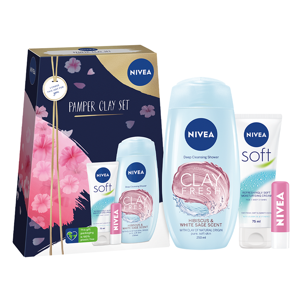 Picture of Nivea: Pamper Clay Gift Set