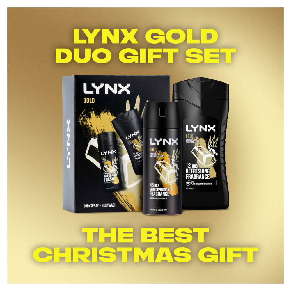 Picture of Lynx: Gold Duo Gift Set