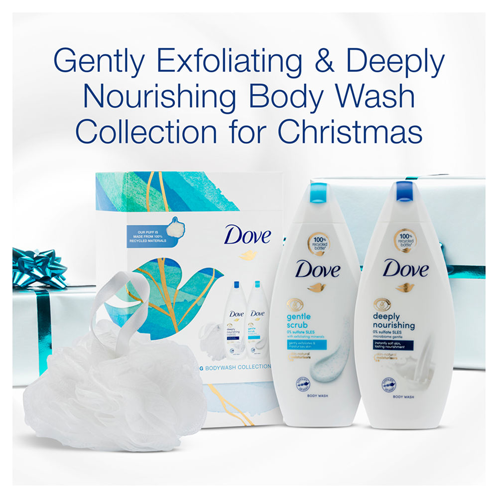 Picture of Dove: Gently Nourishing Body Wash Collection Gift Set