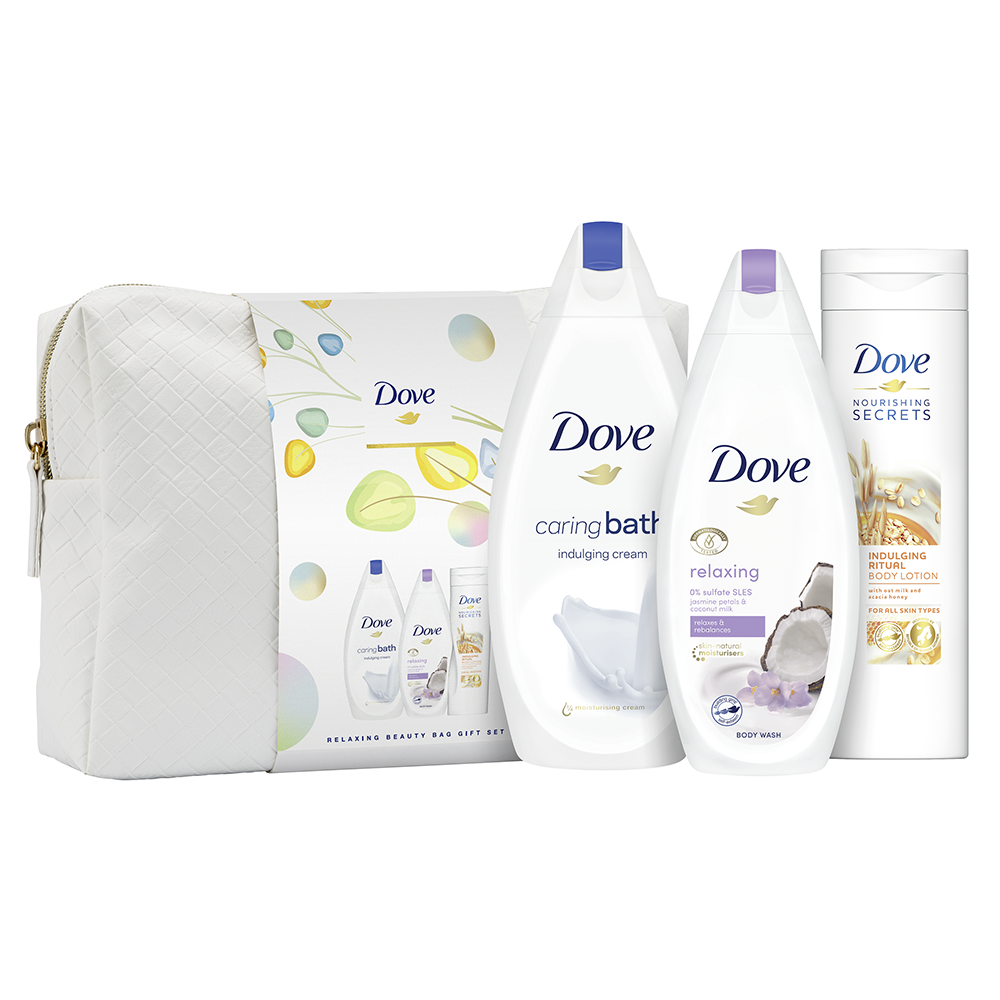 Picture of Dove: Relaxing Beauty Bag Gift Set