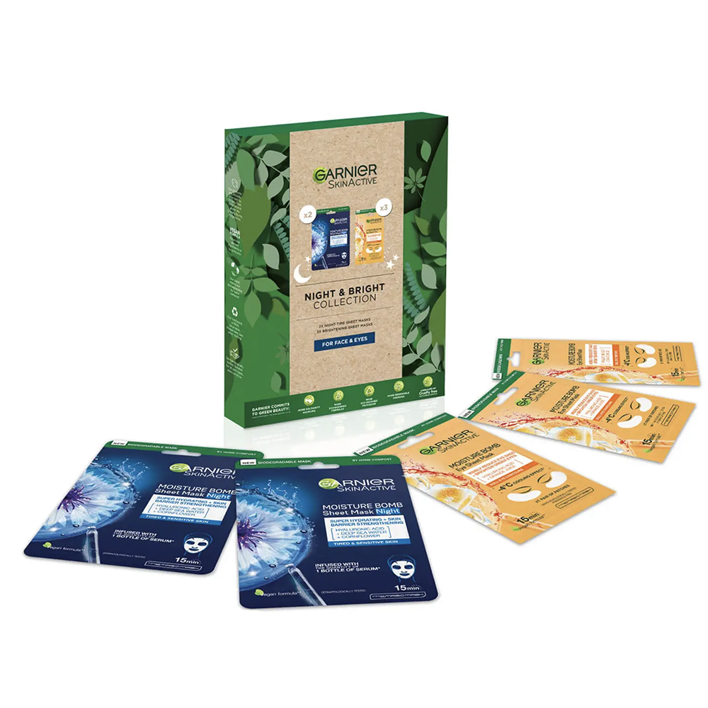Picture of Garnier: Night & Bright Collection Gift Set