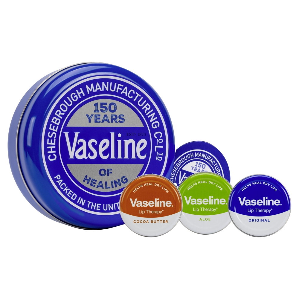 Picture of Vaseline Original Selection Tin Gift Set 3 Piece