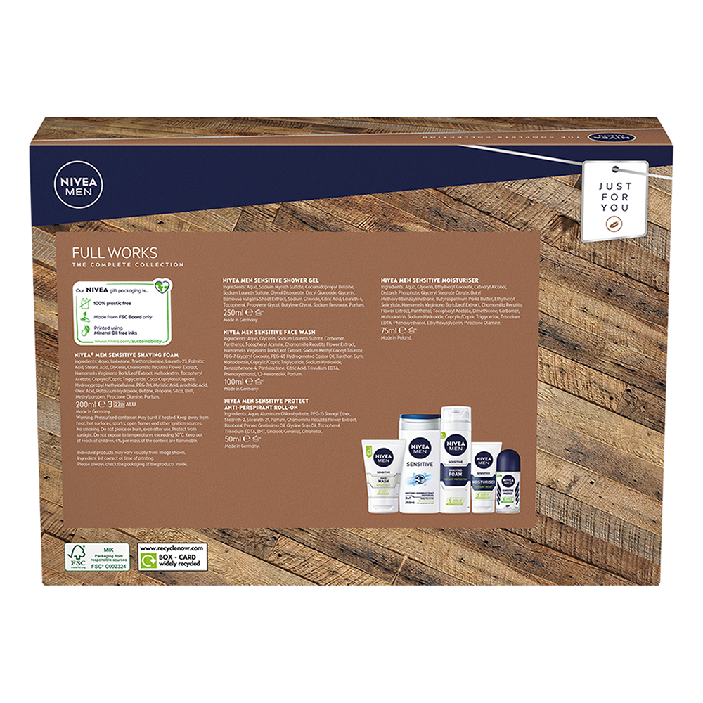 Picture of Nivea Men: Full Works The Complete Collection Gift Set