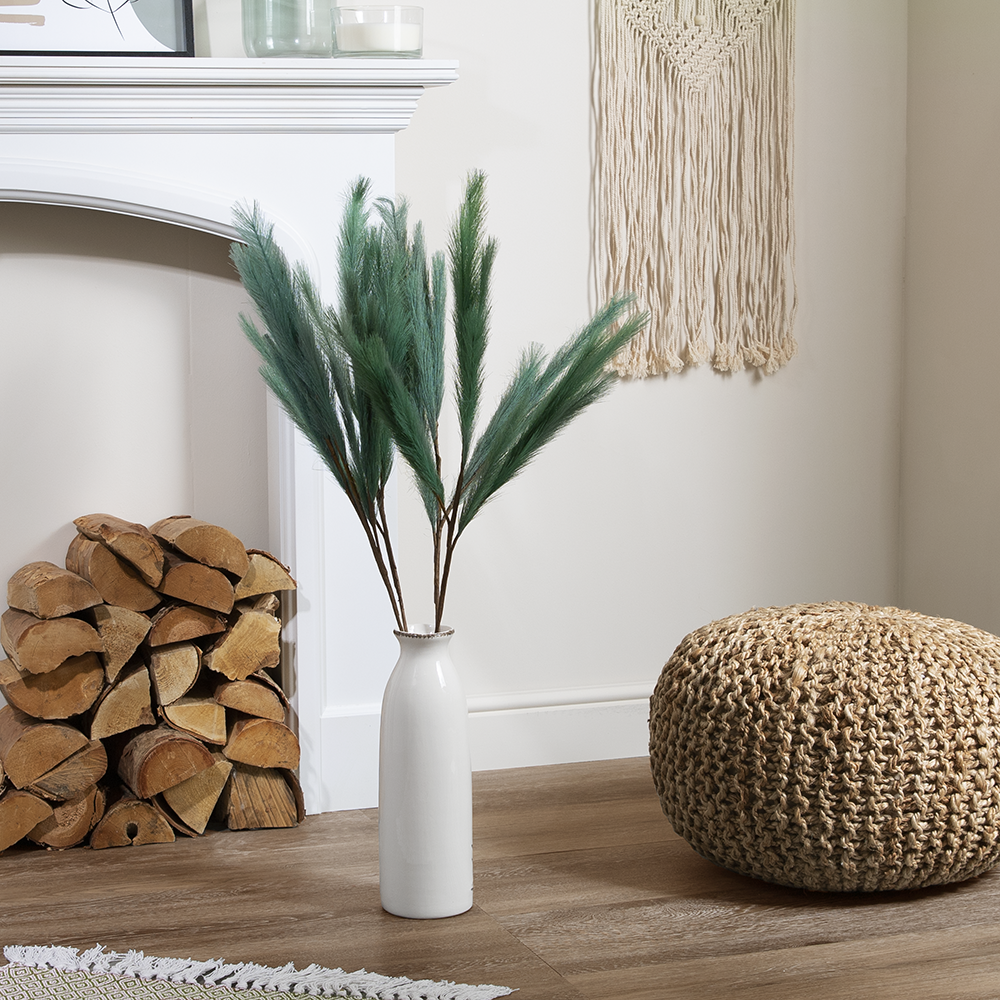 Picture of Forever Faux Green Pampas Grass 5 Pack