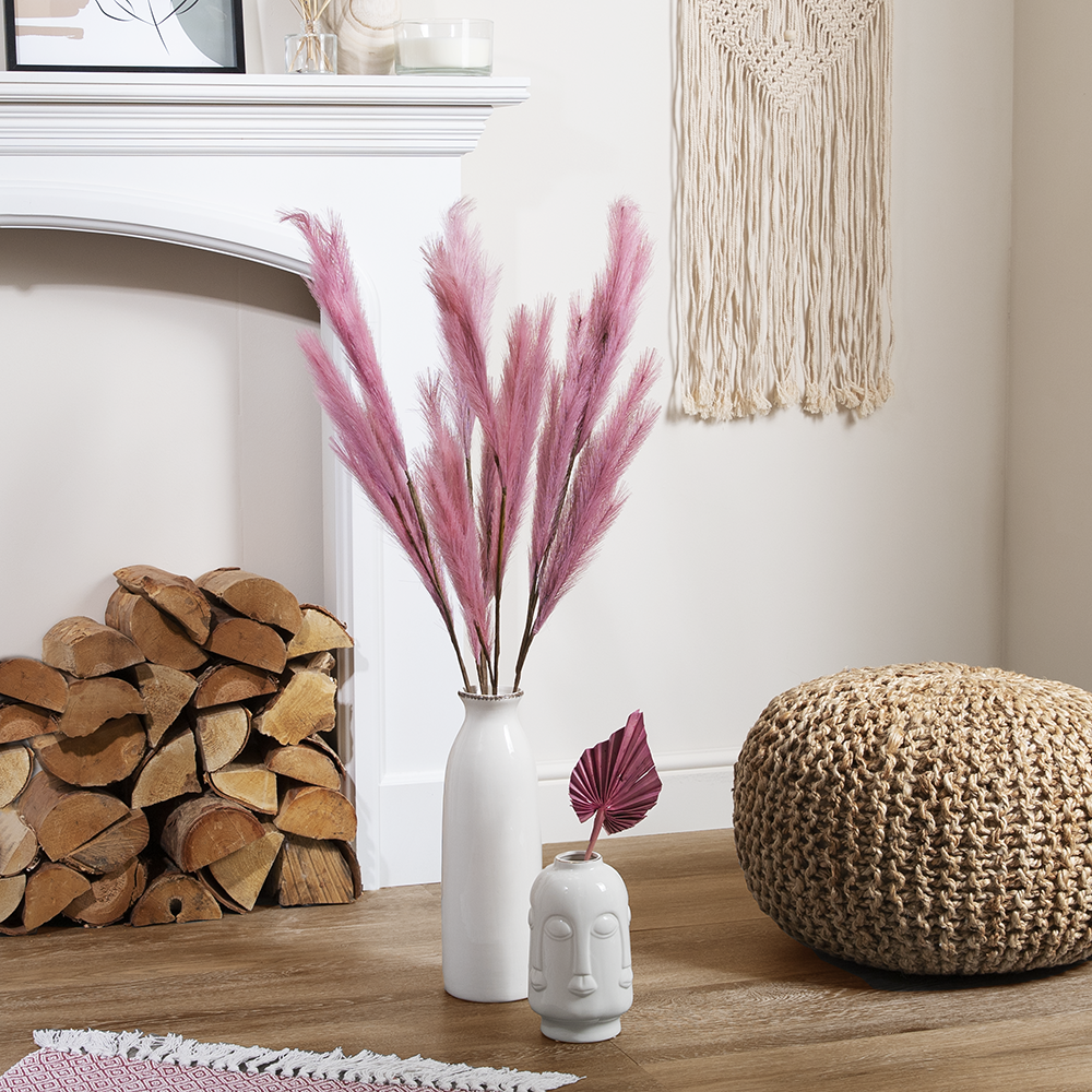 Picture of Forever Faux Pink Pampas Grass 5 Pack