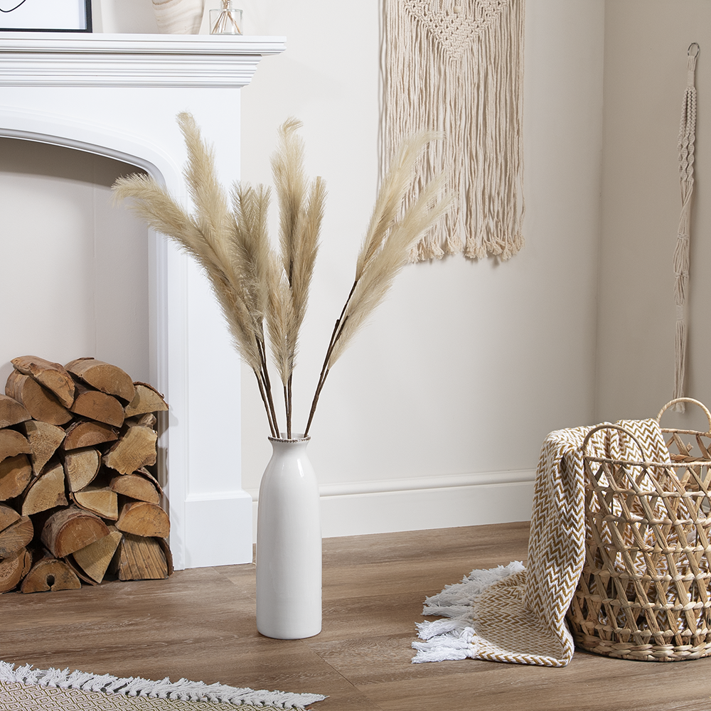 Picture of Forever Faux Sand Pampas Grass 5 Pack