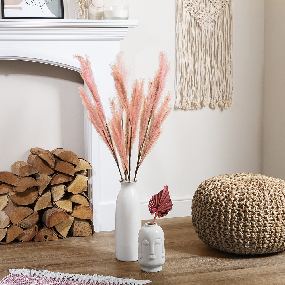 Picture of Forever Faux Coral Pampas Grass 5 Pack