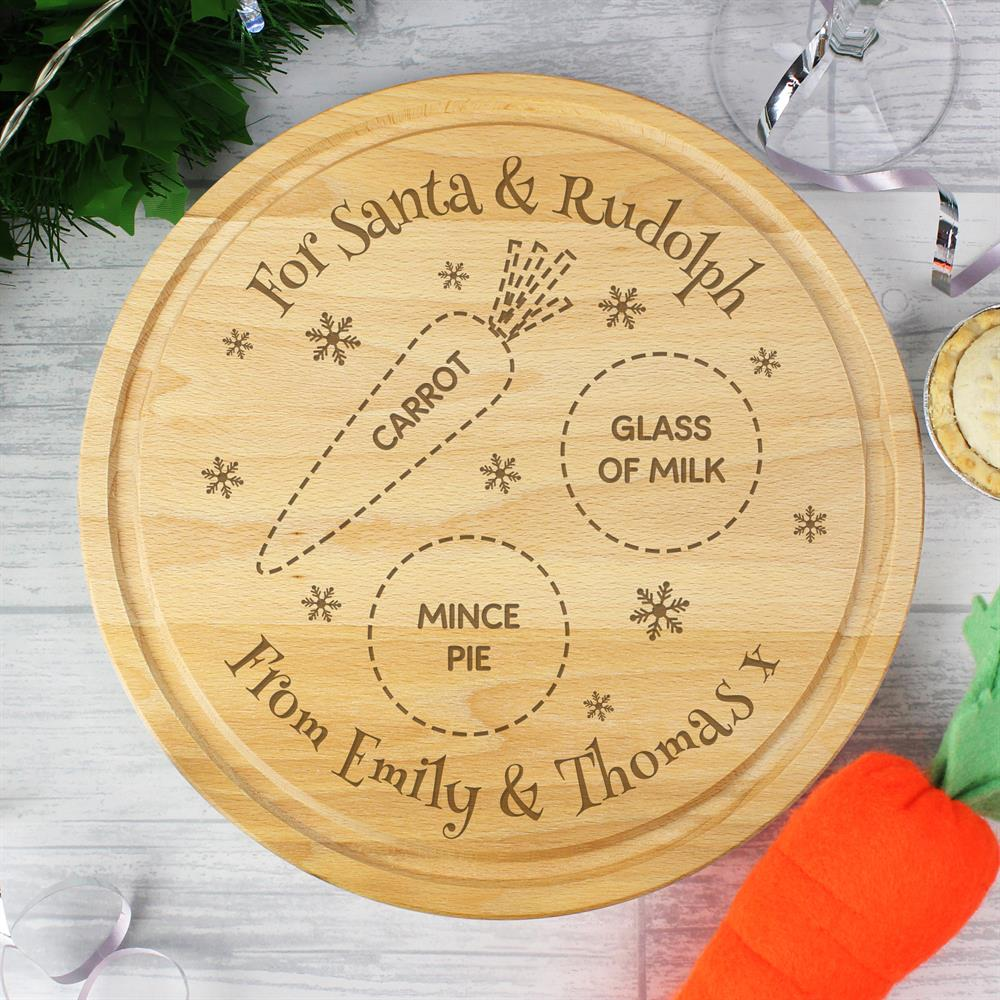 Picture of Personalised Christmas Eve Treats Board