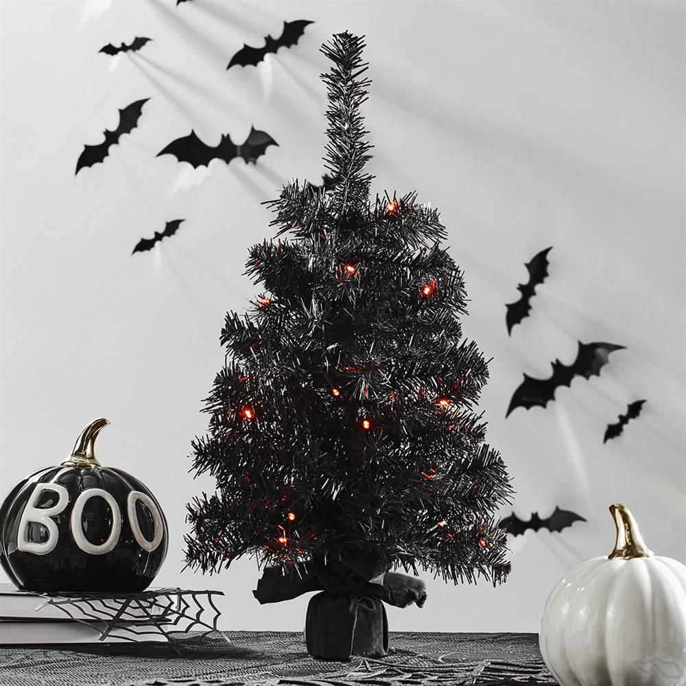 Picture of Haunted House: Pre-Lit 2ft Tree