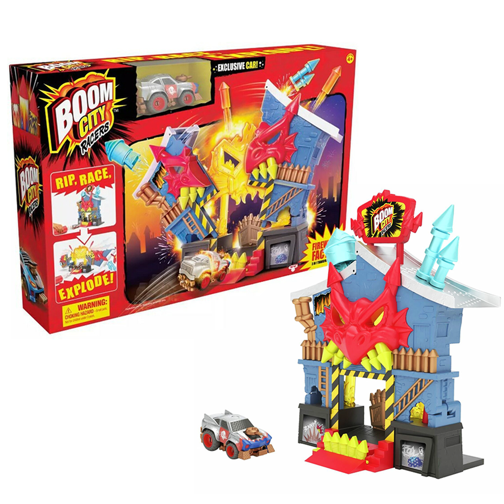 Picture of Boom City Racers: Fireworks Factory Playset