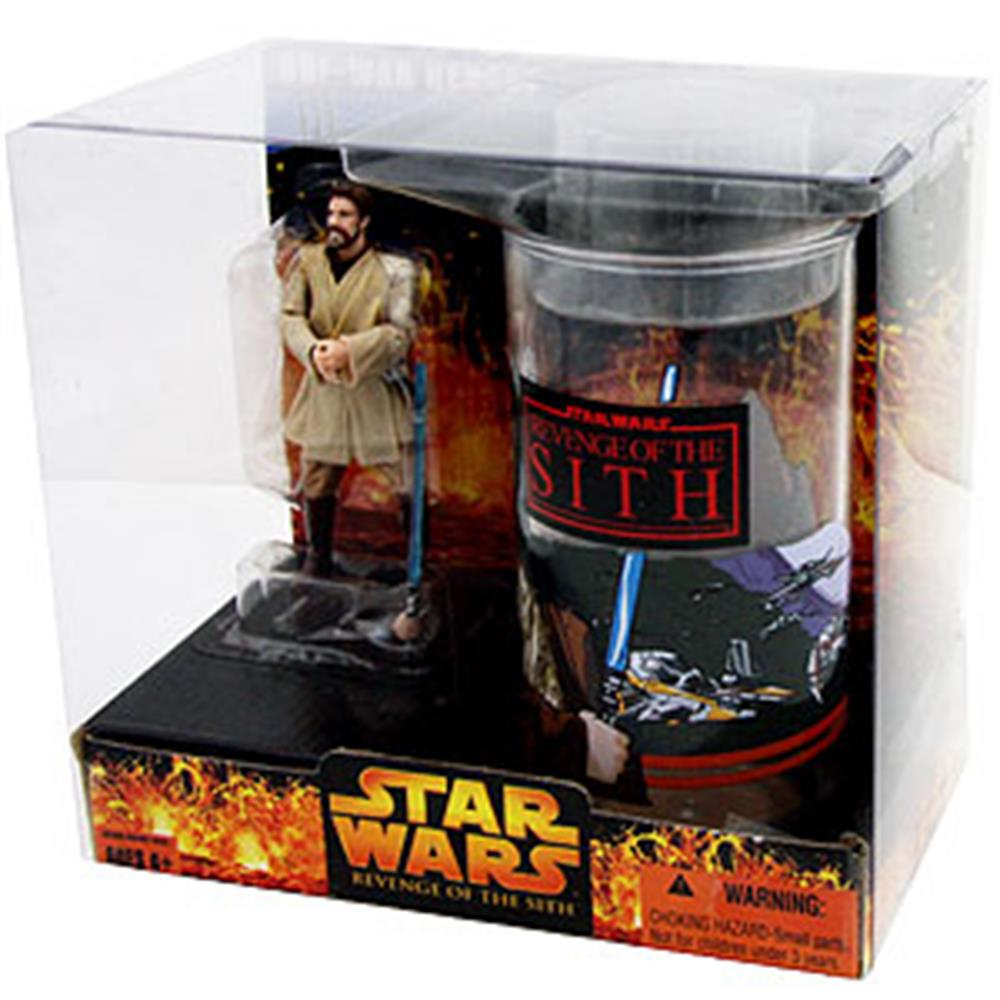 Picture of Star Wars: Obi-Wan Kenobi With Cup and Figure