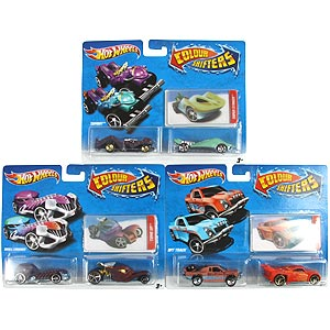 Buy Hot Wheels 2pk Colour Shifters Set Of 3 At Home Bargains